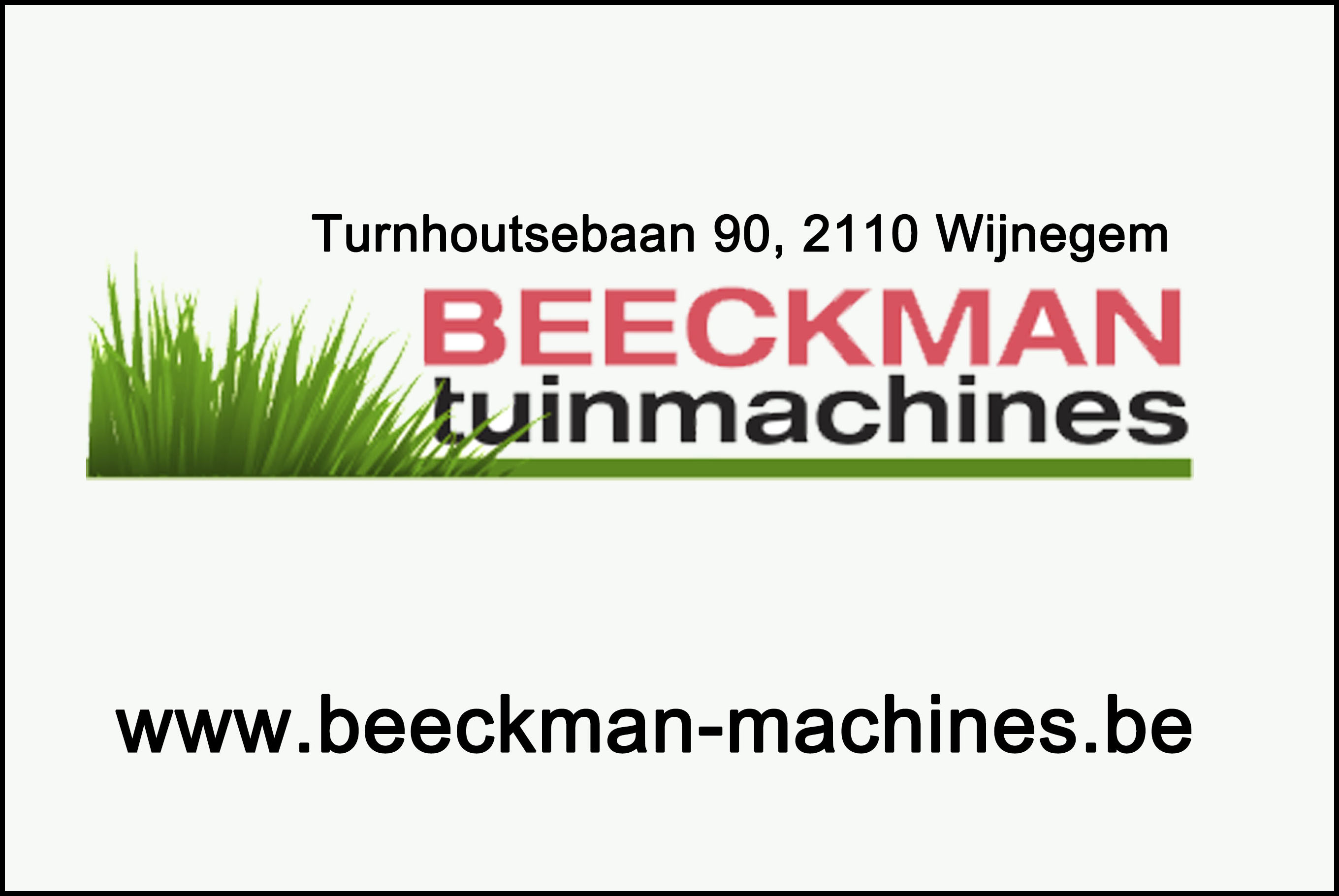 beeckman machinesvG